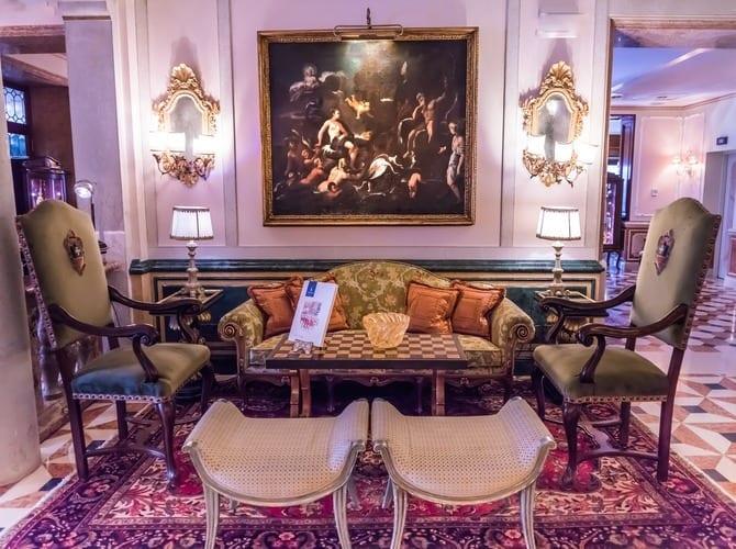 Luxury hotel Europe