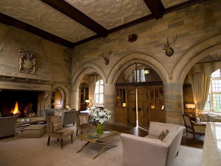 Waterford Castle Reception Luxury Hotel
