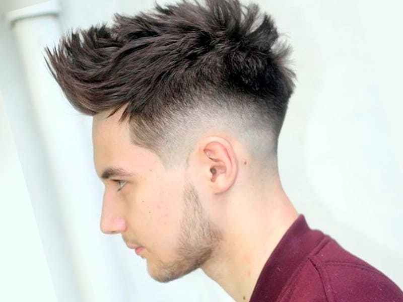 The Low Fade Male Mens Style Hair Ireland